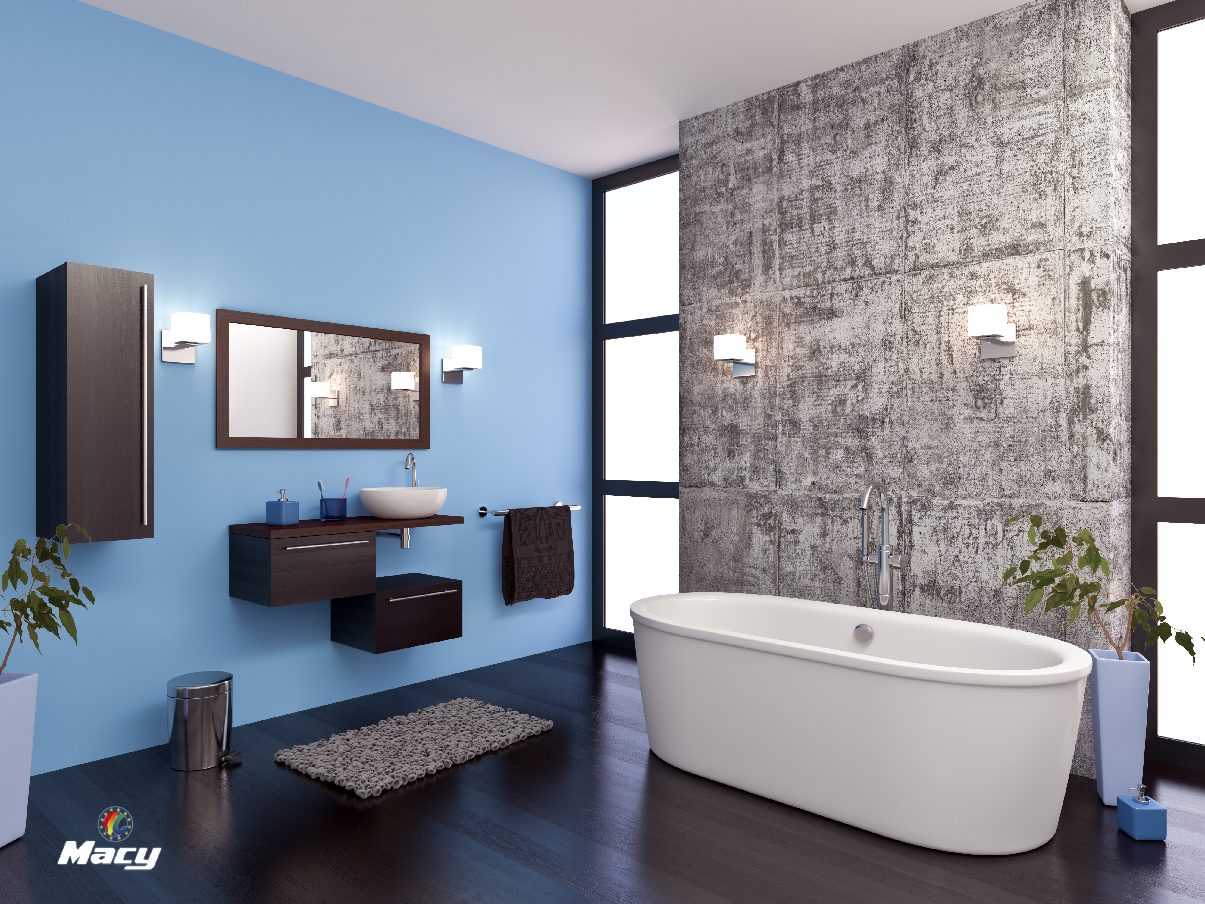 HOW TO PAINT YOUR BATHROOM EASILY