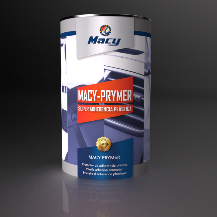 Launch of MACY-PRIMER, a new product to paint any type of plastics