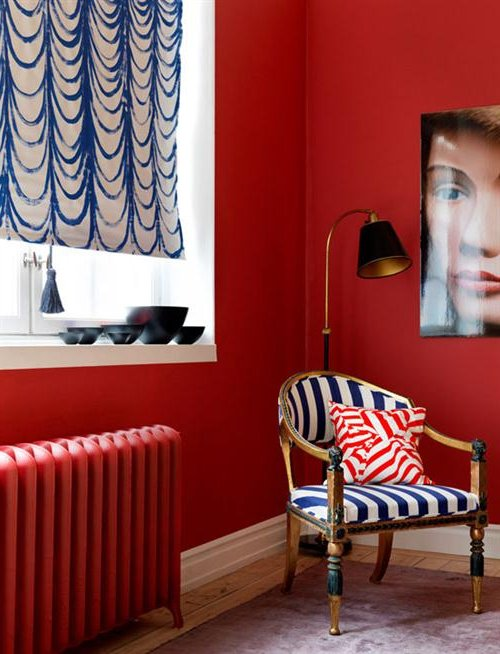 DECORATING WITH RED PASSION: TIPS AND TRICKS
