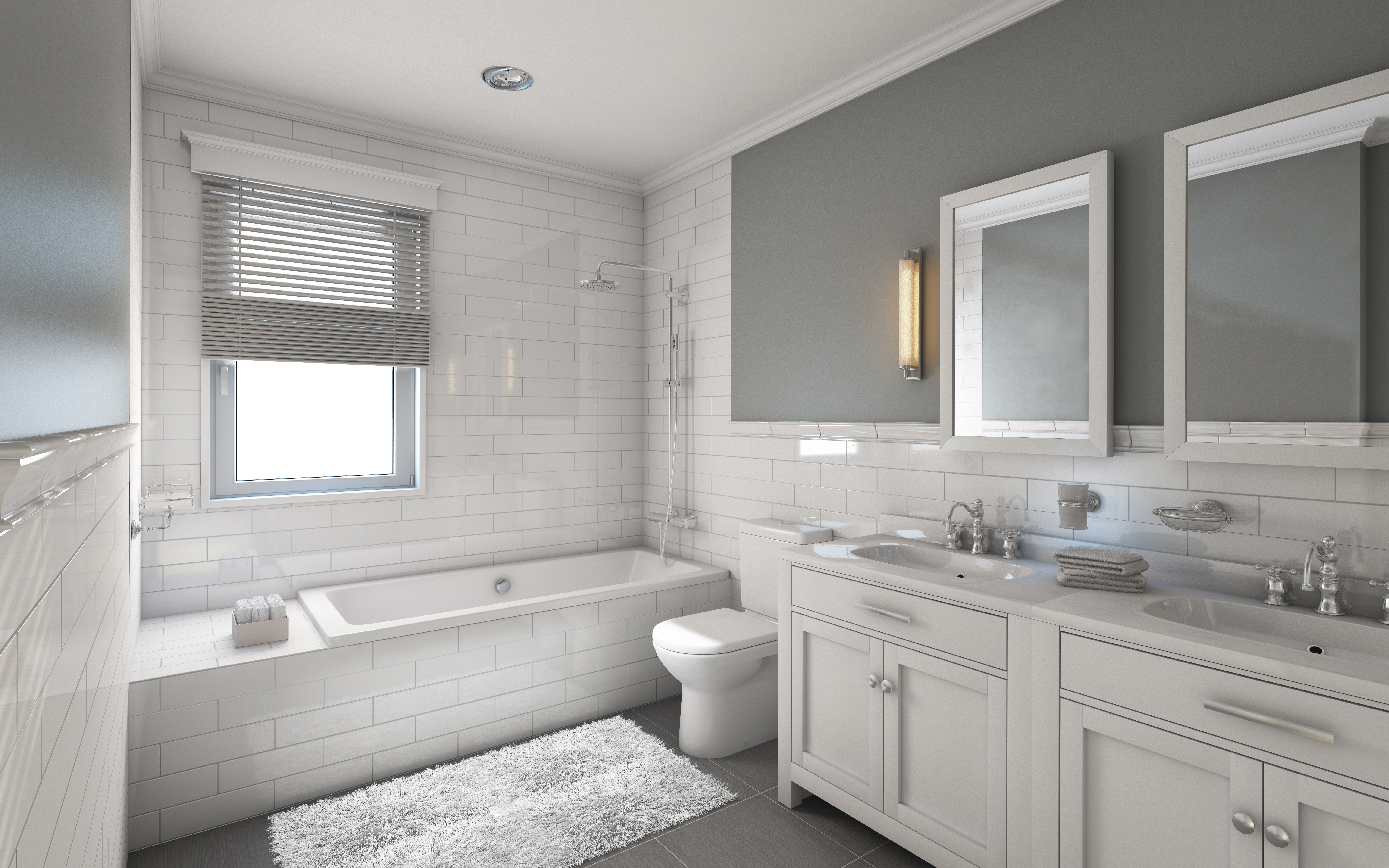 Some tips to decorate your bathroom